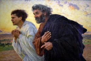 Pierre et Jean le matin de la résurrection